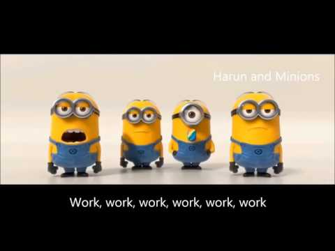 Minions singing work