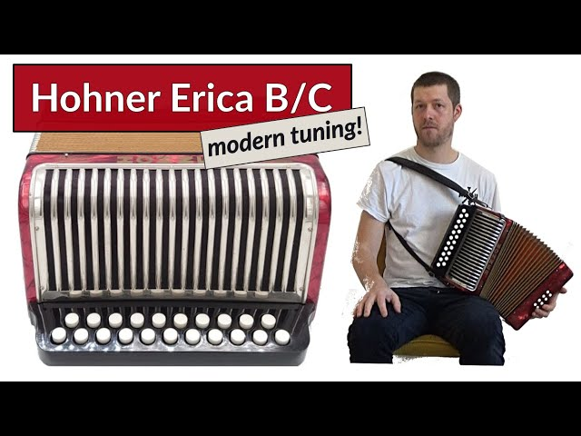 Hohner Erica B/C - dry tuning - The Rookery/The Edenderry - Accordion Doctor