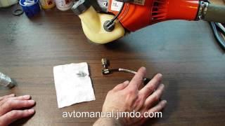 видео Бензокоса глохнет или задыхается при нажатии на газ