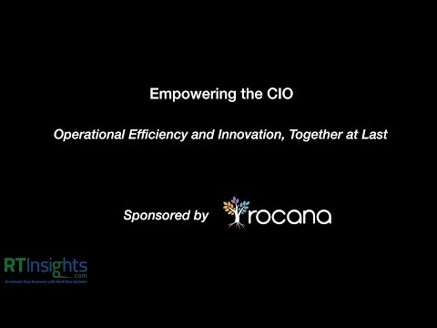 Empowering the CIO - Operational Efficiency and Innovation