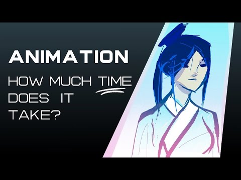 How Long Does It Take To Make An Animation? | Timelapse