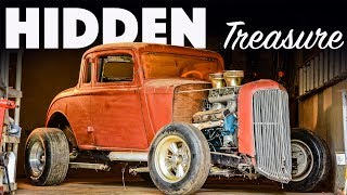 Hidden in the Basement for 30 YEARS (we DRIVE it!) -- Hot Rod Hoarders Ep. 4