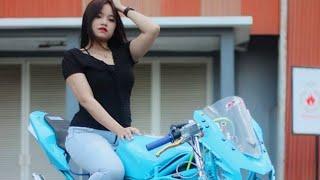 Download Video Model cantik ninja rr [ BLUE NINJA ]    update model 2019 cantik MP3 3GP MP4