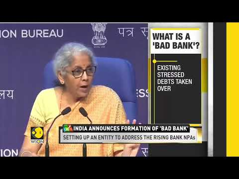 India Announces Formation Of 'Bad Bank' | World Business Wat
