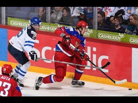Россия - Финляндия 3:4 ОТ   Молодежный чемпионат мира по хоккею 2015/16 Финал