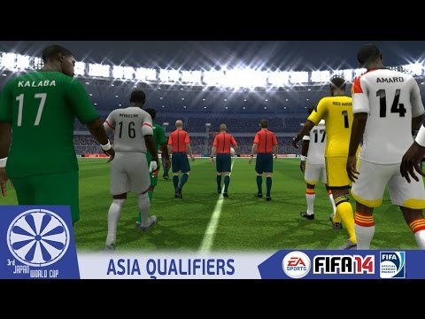 Angola vs  Zambia - FIFA14 - End of Africa R1 Group F - 3rd Japan World Cup  Qualifiers - 60fps
