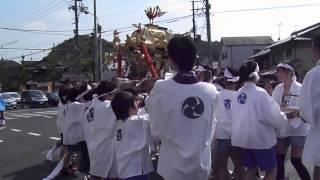 崇道神社の神輿