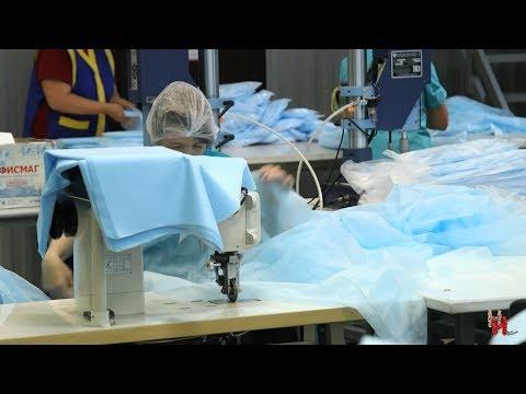 В Торопце изготавливают больше половины одноразовой медицинской одежды в стране