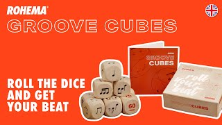 Rohema Groove Cubes - Roll your beat!