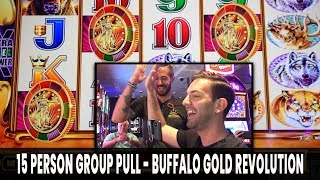 😍 15 Person GROUP PULL! 💰 $3,000 in for BUFFALO Gold Revolution!