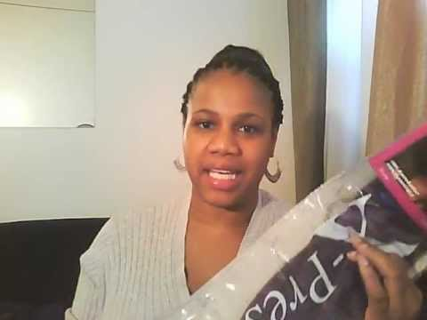 Crochet Straight Hair Youtube : Straight hair crochet braids with X-pression Synthetic Hair - YouTube