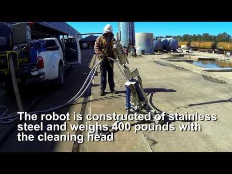 Rail Car Cleaning Robot