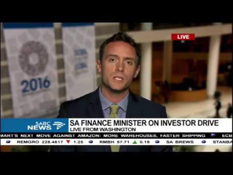Pravin Gordhan in Washington for the IMF meetings: Kevin Mcaleese