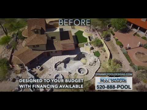 Custom Pool Builders Tucson | Dynamic Pool Designs