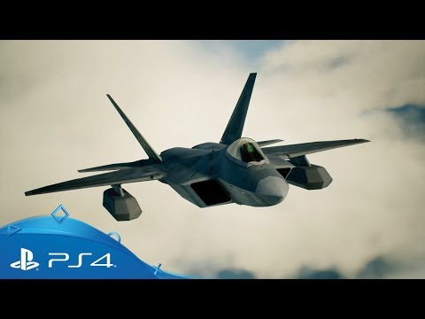 Ace Combat 7 | F-22A Raptor Aircraft Introduction Trailer | PS4