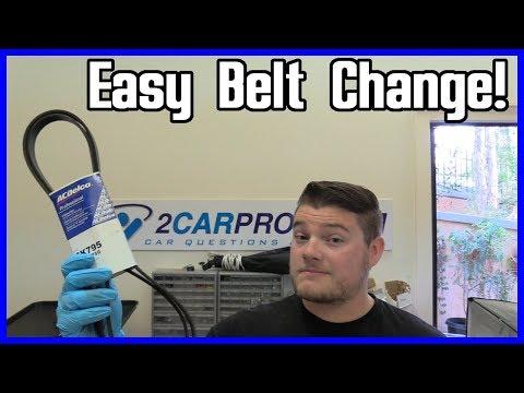 How to Replace Serpentine Belt Dodge Caravan 3.3L V6 2001–2010 EASY!