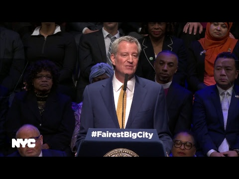 Mayor de Blasio Delivers State of the City Address