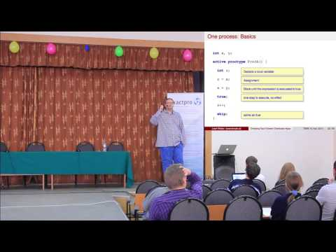 TMPA-2014: Introduction into Fault-tolerant Distributed Algorithms and their Modeling (Part 2)