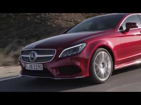 Mercedes-Benz CLS 500 4MATIC Driving  Trailer  AutoMotoTV