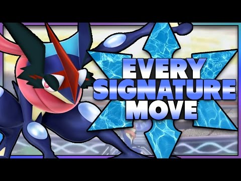 Every Signature Move in Pokemon! (Gen 1-6)