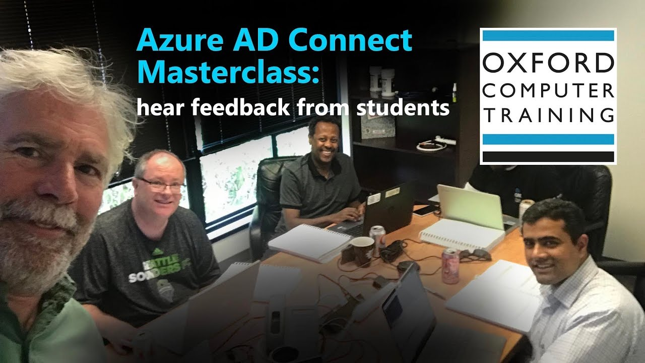 Azure AD Connect Masterclass students' reviews