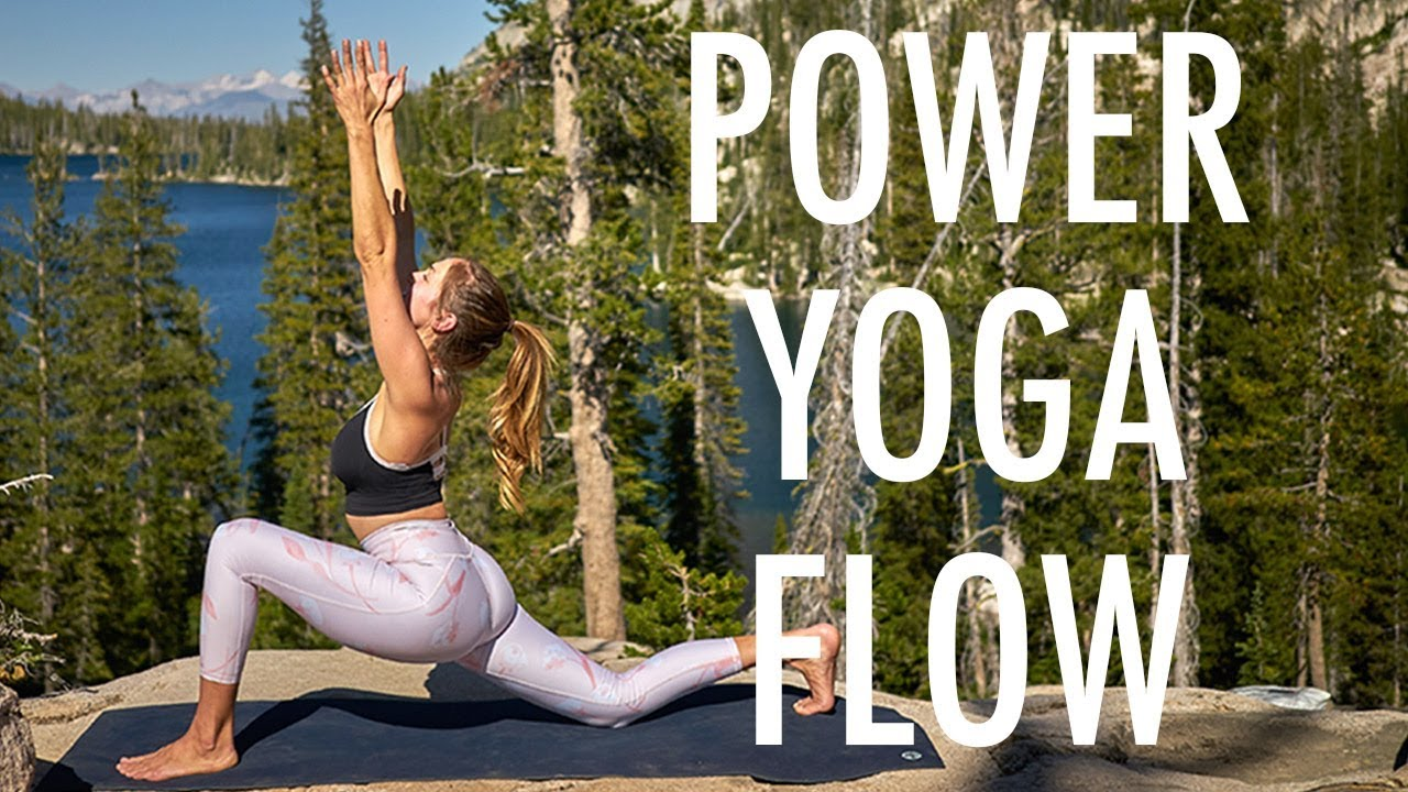 20 Minute Power Yoga Video To Tone And Stretch Amanda Outside