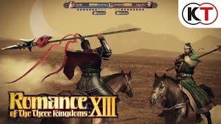 ROMANCE OF THE THREE KINGDOMS XIII - WARFARE GAMEPLAY