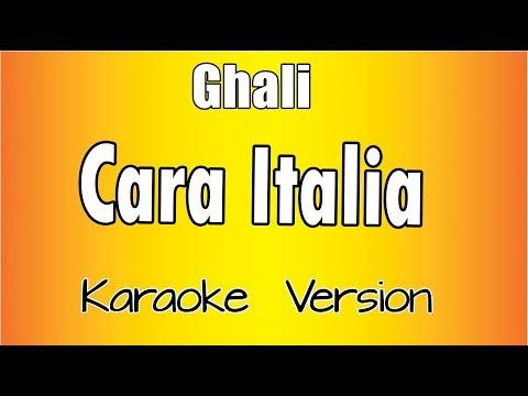 Ghali - Cara Italia (Karaoke Version)
