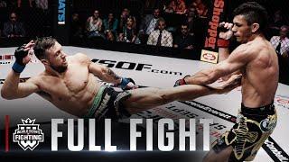#WSOF32: Lance Palmer vs. Alexandre Almeida Featherweight Title Fight