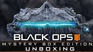 New Black Ops 4: Mystery Box Edition Unboxing! (call Of Duty Black Ops 4)
