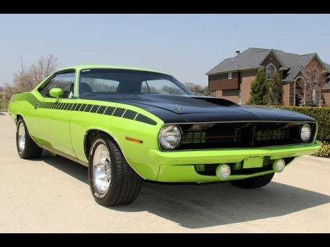 1973 Plymouth Cuda Aar Tribute For Sale Youtube