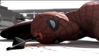 Смерть человека паука _Вырезанная сцена из фильма - Первый мститель: Противостояние