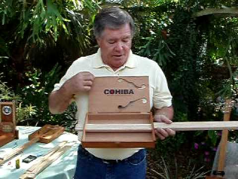 BUILD YOUR OWN CIGAR BOX GUITAR PART 1 BY SHAMUS 1 of 3