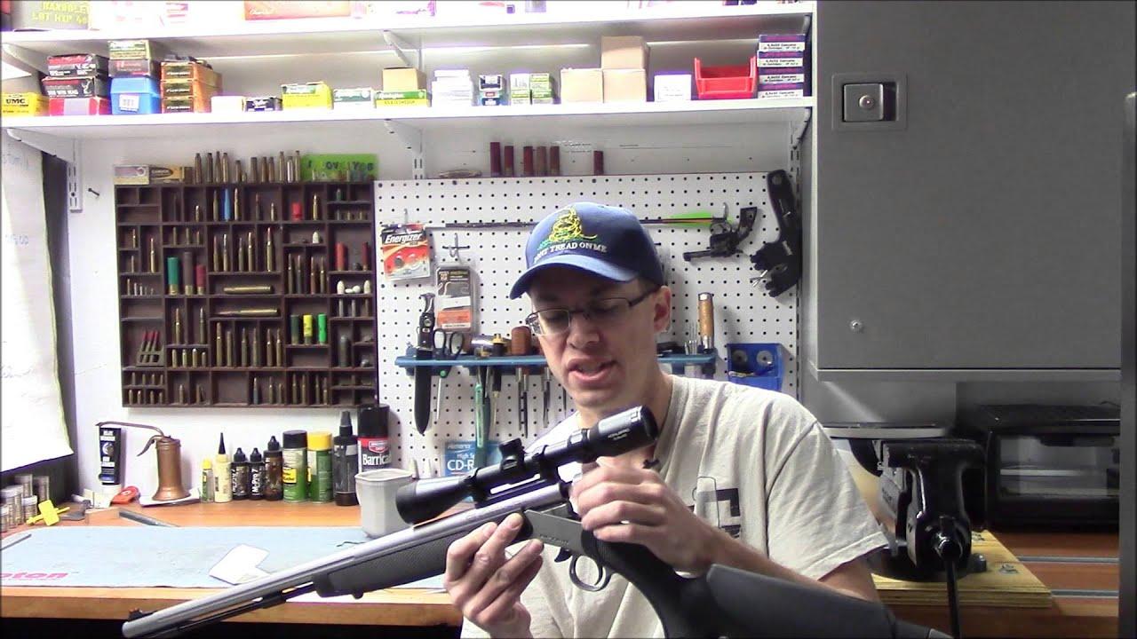 CVA Optima,  50 caliber black powder rifle review