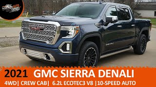Тест-драйв 2021 GMC Sierra 1500 Denali (ДжиЭмСи Сиерра Денали) | Авто из США