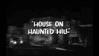"003 Sunday Night Cinny ""The House on Haunted Hill"" (1959)"