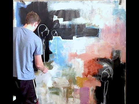 EXTRA LARGE Acrylic Abstract Expressionism