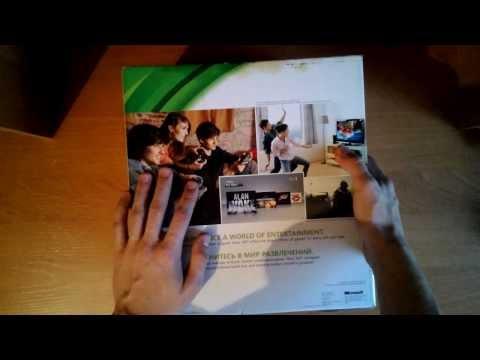Распаковка и обзор Xbox 360 Slim 250gb