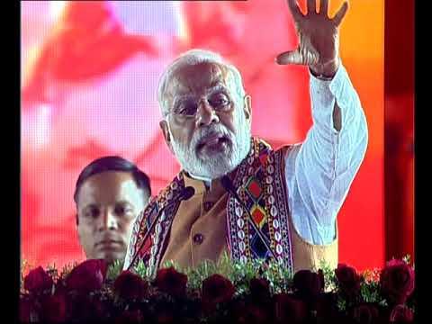 PM Modi's Speech at a Public Meeting in Bidar, Karnataka