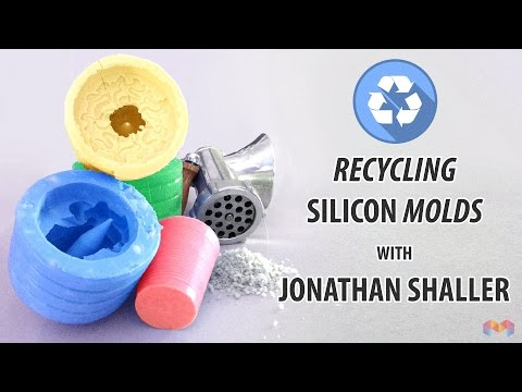 How to Recycle your old Silicon Molds