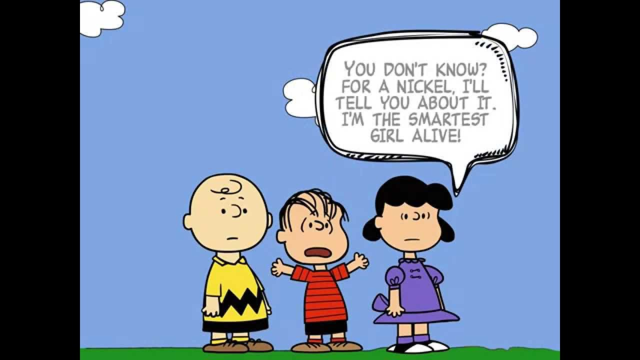 Lucy Explains to Linus and Charlie Brown about Bokeh  YouTube