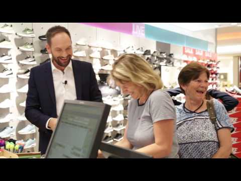 Der Berliner Rundfunk 91.4 Secret Shopper im EASTGATE Berlin