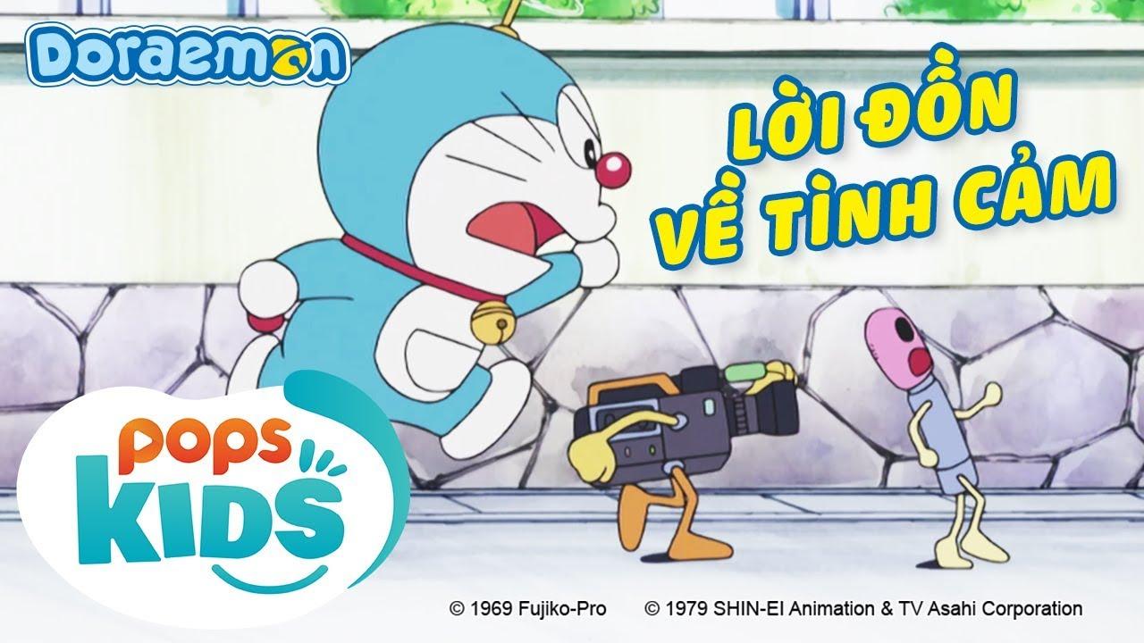 [S6] Doraemon Tập 306 - Lời Đồn Về Tình Cảm, Thời Gian Ơi Chuyển Động Nào - Hoạt Hình Tiếng Việt