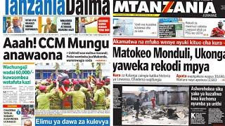 MAGAZETI 18/9/2018:Matokeo ya Ukonga,Monduli Yaweka Rekodi Mpya