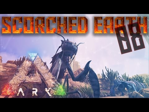 Ark: Scorched Earth Gameplay - Ep 08 - Taming A Mantis - Scorched Earth Let's Play
