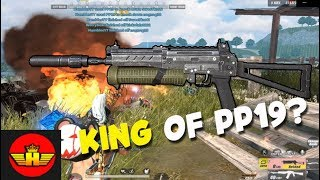 ROS: IS PP19 THE BEST GUN OVER POWER IN RULES OF SURVIVAL?