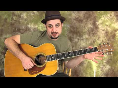 Acoustic Blues Guitar Lessons - Acoustic Blues Lick