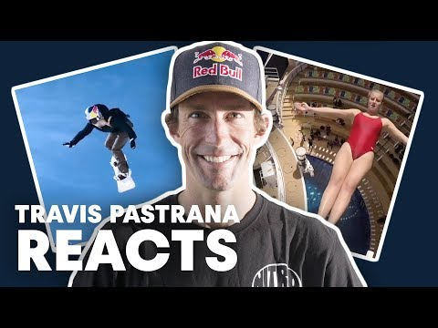 Travis Pastrana Reacts To Top Red Bull V...