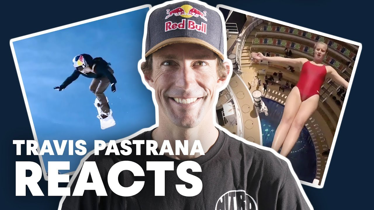 Travis Pastrana Reacts To Top Red Bull Videos