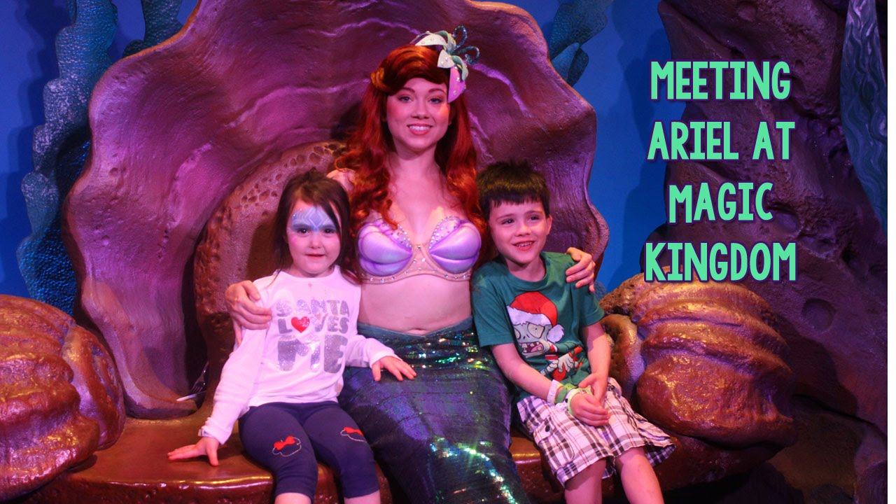 Meeting the little mermaid at ariels grotto disney world magic youtube premium m4hsunfo